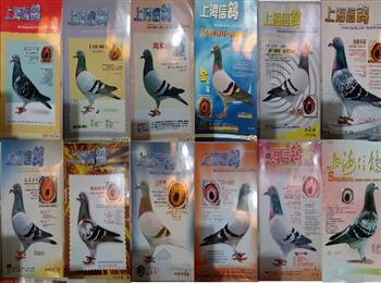 《上海信鸽》杂志5元一本,包邮
